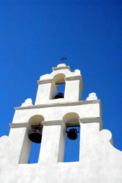 SAN JUAN BELL TOWER AFTER RESTORATION
