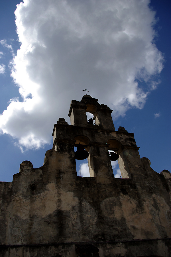 SAN JUAN BELL TOWER BEFORE RESTORATION