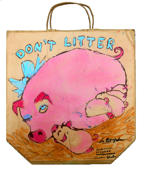 DON'T LITTER BAG